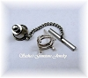 OVAL WIRE BASKET TIE TACK - SERIES 006-050