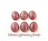 10 X 8 OVAL RHODONITE CABOCHONS