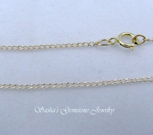18 INCH 14 KT 1/20 GOLD FILLED LIGHT CURB CHAIN