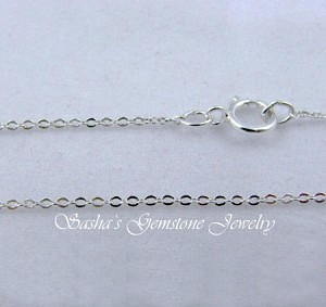 20 INCH STERLING SILVER MEDIUM CABLE CHAIN