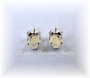 7 X 5 OVAL STERLING SILVER SNAPTITE DROPS