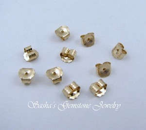 14 KT 1/20 GOLD FILLED MEDIUM EARNUTS