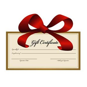 GIFT CERTIFICATE - $20.00